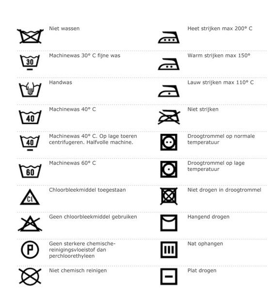 Wasvoorschriften | B5mode