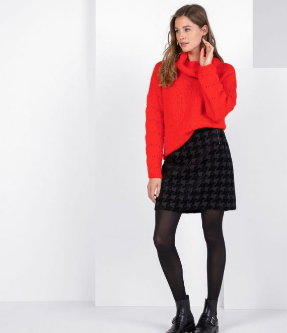 Manon pullover bricht red | Expresso