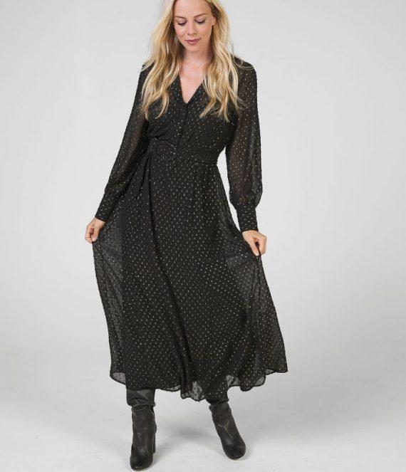 Norence jurk zwart | Expresso