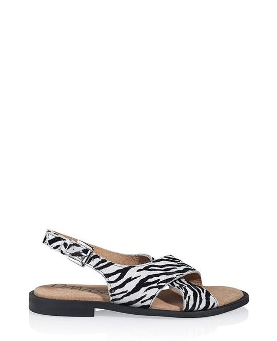 Cuba zebra sandaal | DWRS Label