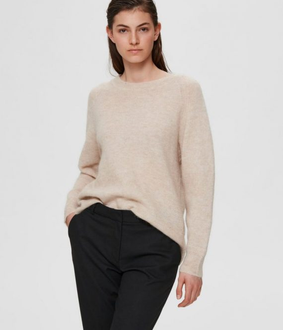 Wollen alpaca sweater | Selected Femme