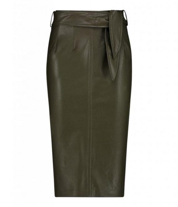 Ploxy PU skirt | Aaiko