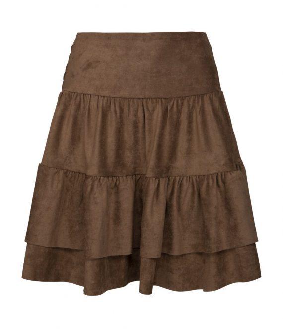 Suede skirt | Sofie Schnoor