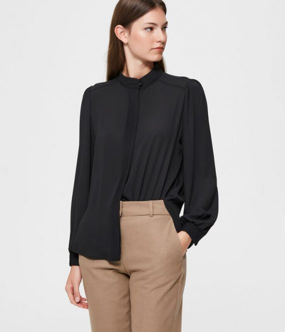 Maokraag overhemd | Selected Femme