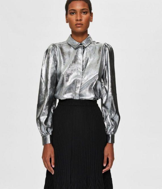 Pofmouw overhemd | Selected Femme