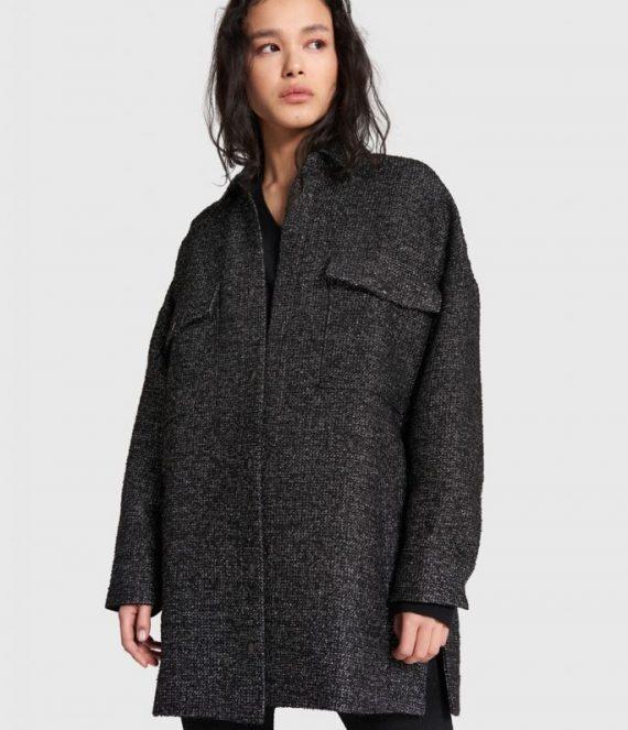 Lurex tweed jacket | Alix the label