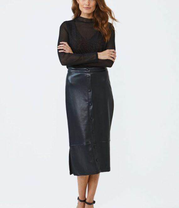 Persida rok zwart | Aaiko