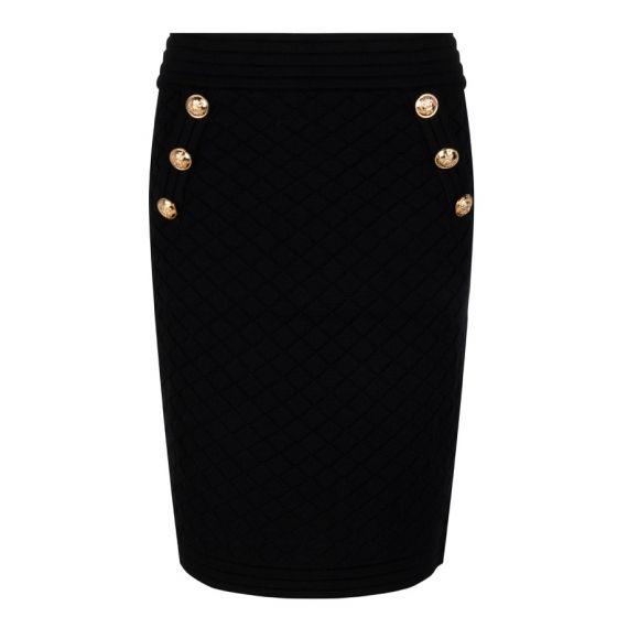 Skirt solid jacquard | Esqualo