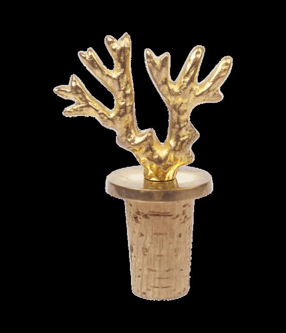 Coral bottle stopper   A la Collections