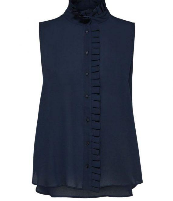 SLFDoris ruches overhemd | Selected Femme