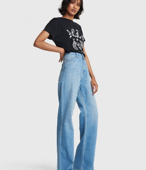 Wide leg jeans | Alix the label