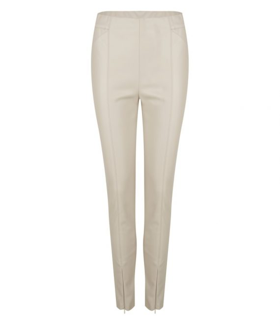 Trouser PU tregging zipper | Esqualo
