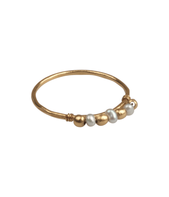 Freshwater pearl ring | A la Collections