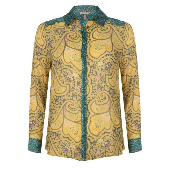 Blouse paisley wheat | Esqualo