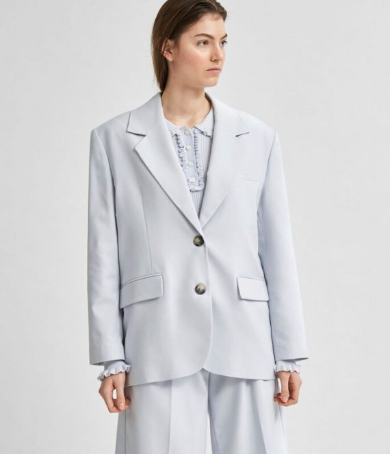 Relaxed fit gerecycled polyester blazer | Selected Femme
