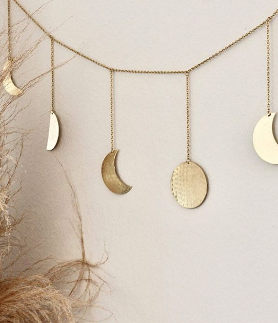 Moonphase garland | A la Collection