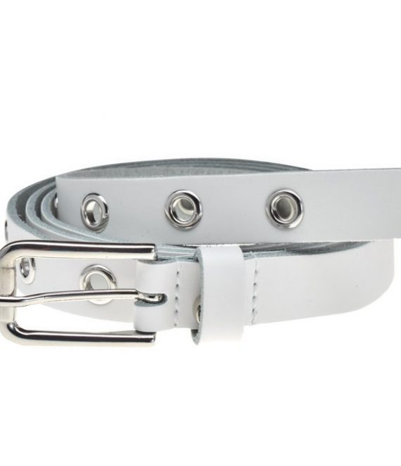Belt 20742 white silver | Elvy Fashion