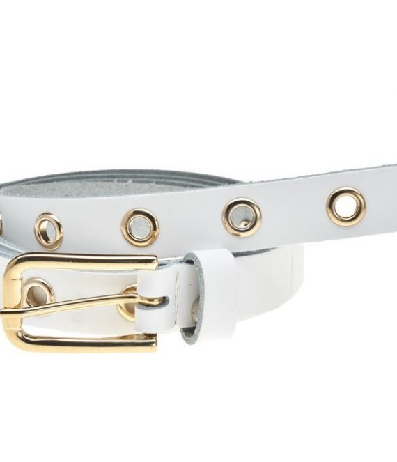 Belt 20742 white gold | Elvy Fashion