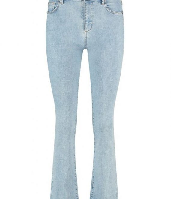 Debbie cropped flared jeans | Homage
