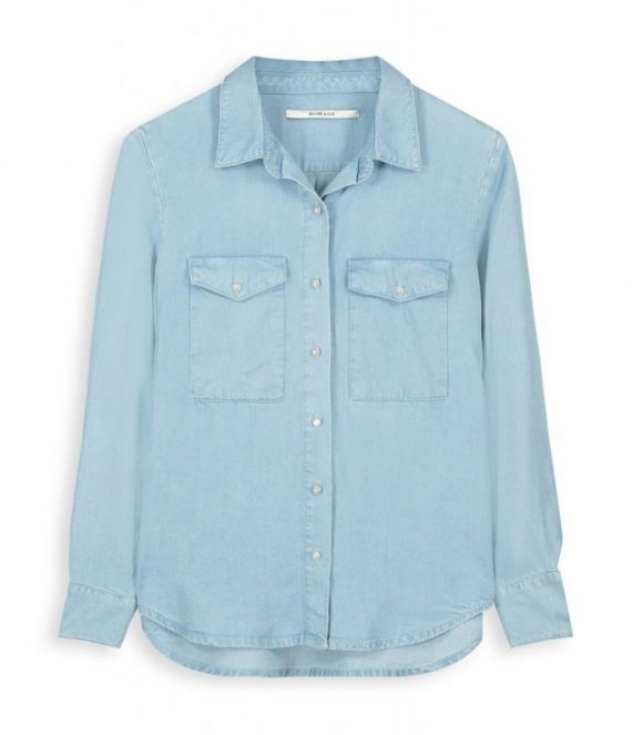 Oversized tencel blouse | Homage