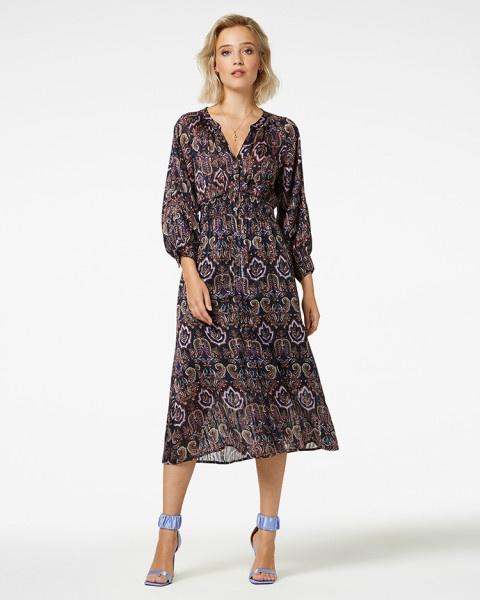Mae jurk paars | Freebird