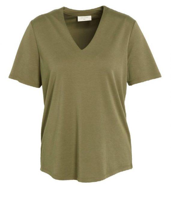 T-shirt olijfgroen   Freequent
