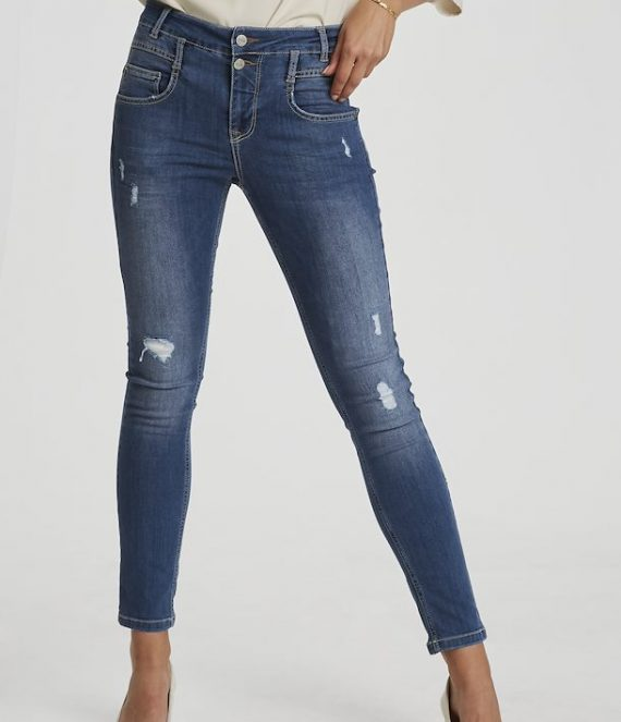 DHFiola torn free jeans | Denim Hunter