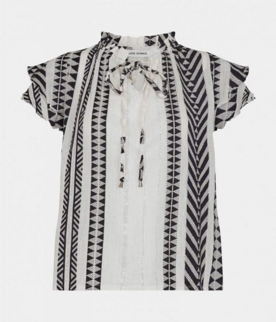 Azetec blouse | Sofie Schnoor