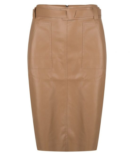 Skirt PU patches pockets | Esqualo