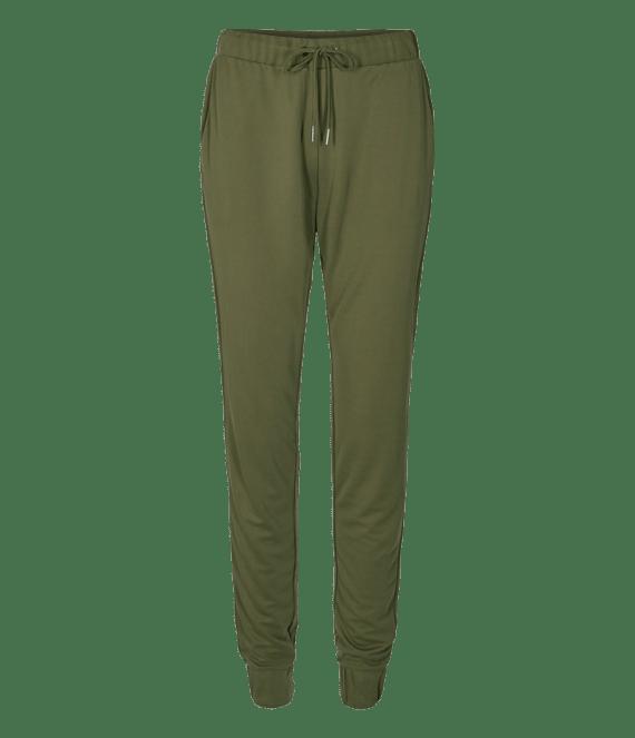 Broek olijfgroen | Freequent