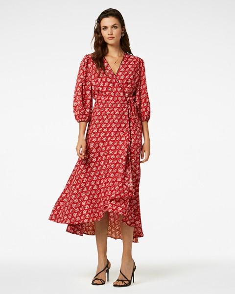 Belia jurk rood | Freebird