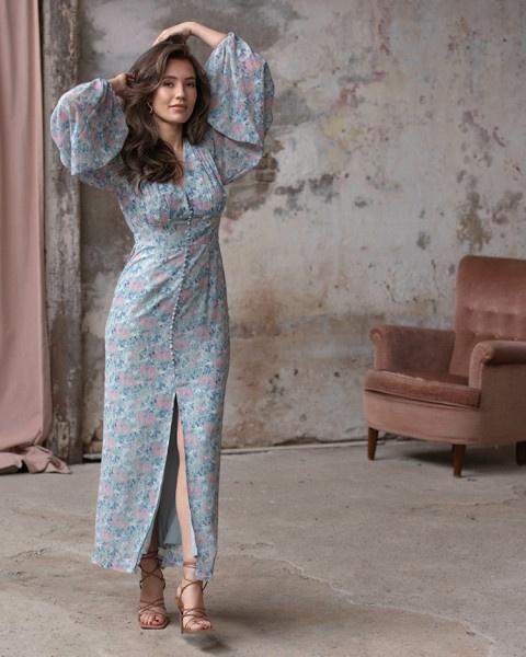Fajr jurk blauw | Freebird