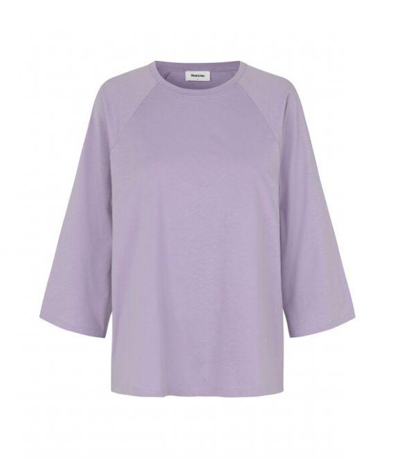 Napoli shirt soft lavender | Modstrom