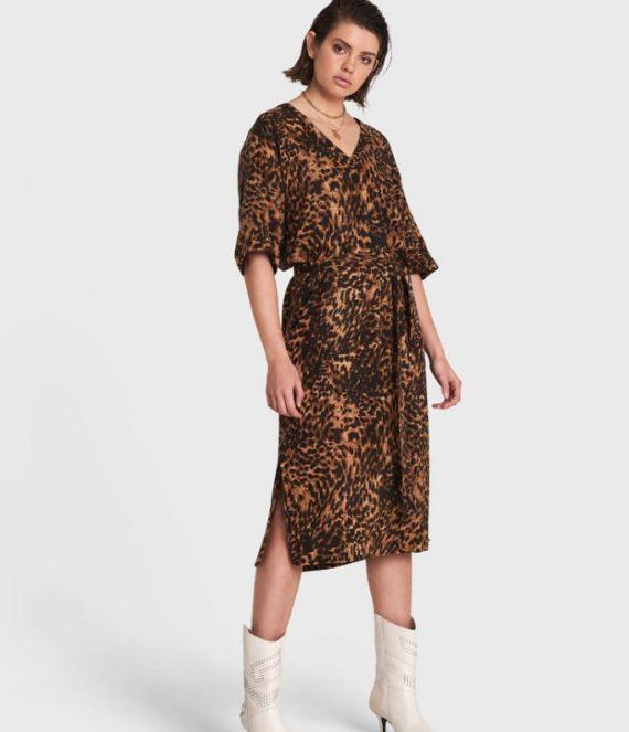 Jaguar crinkle dress | Alix the label