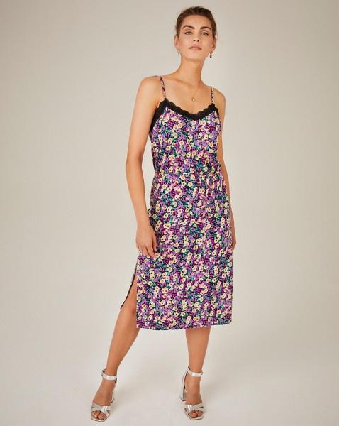 Arlo jurk paars | Freebird