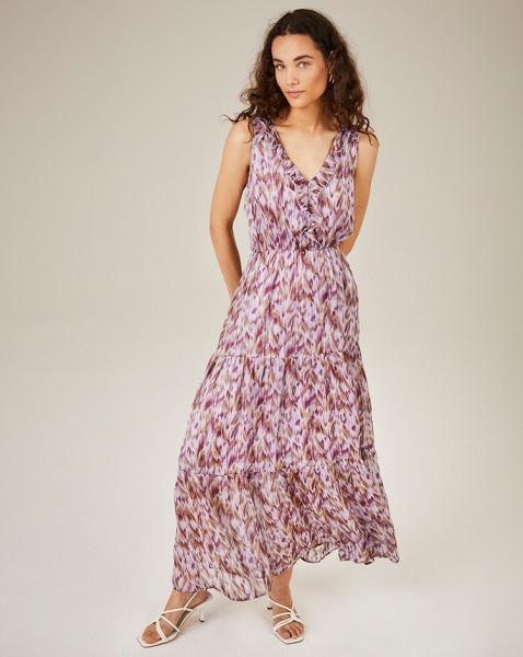 Cera jurk paars | Freebird