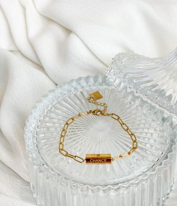 Bracelet amour chance bonheur | Zag Bijoux