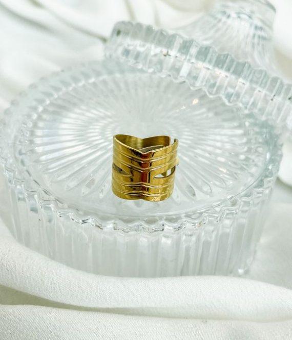 Ring gold unique | ZAG Bijoux
