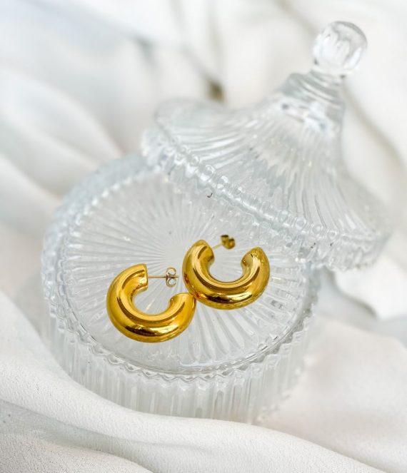 Earrings big chunky | ZAG Bijoux
