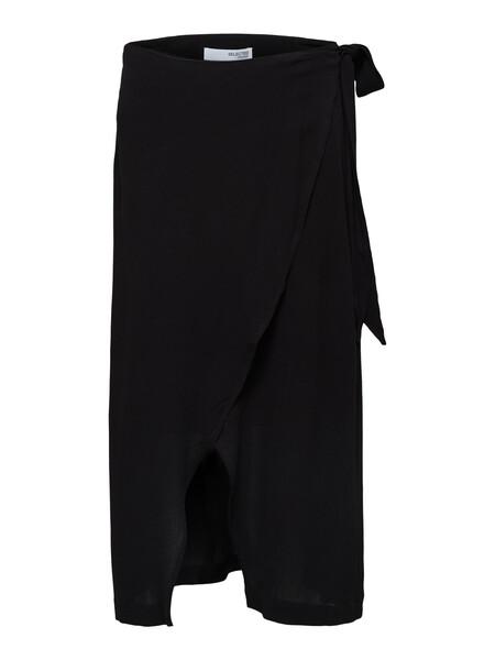 Midi wrap skirt | Selected Femme