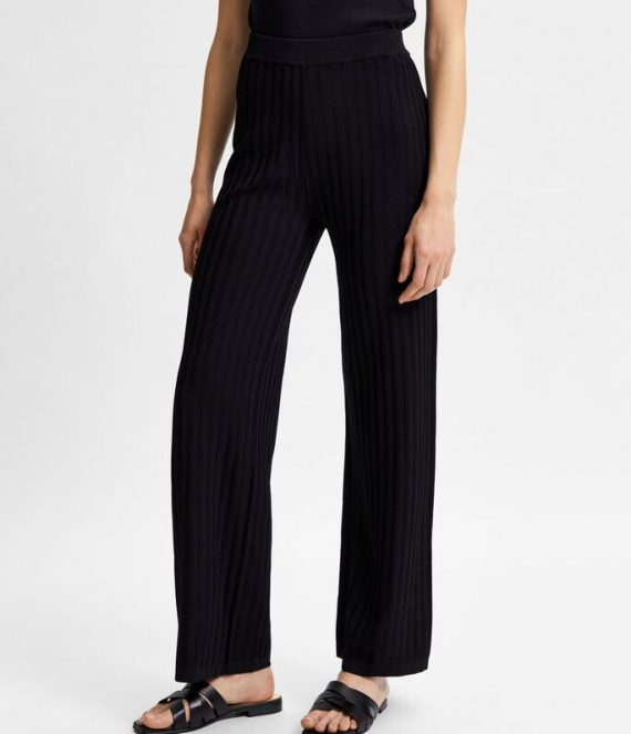 High waist plooien pantalon | Selected Femme