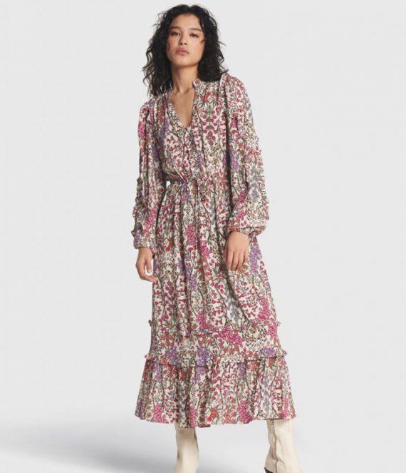 Floral maxi dress | Alix the label