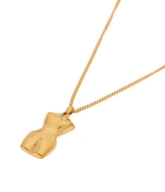 La Femme necklace gold | Label Kiki