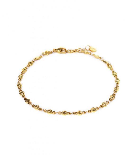 Little star anklet gold | Label Kiki