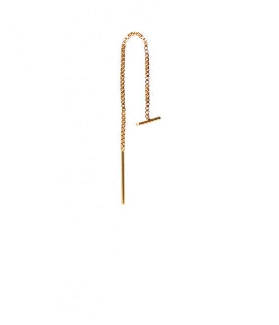 Bar chain earring | Label Kiki