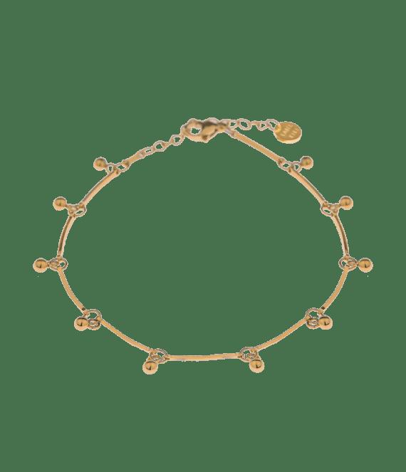 Bell anklet gold | Label Kiki
