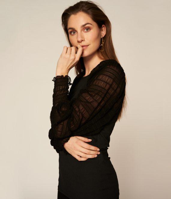 Alivia jurk zwart | Freebird