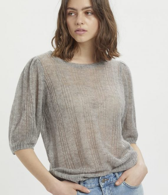 MWFiona Knit Puff Pullover | My Essential Wardrobe