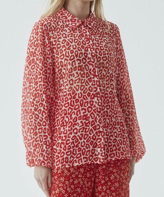 Lana print shirt | Modstrom