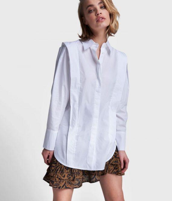 Poplin blouse | Alix the Label